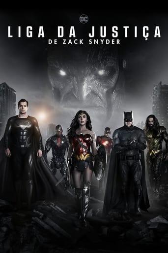 Liga da Justiça de Zack Snyder - Poster