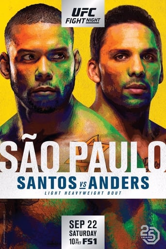 Poster of UFC Fight Night 137: Santos vs. Anders