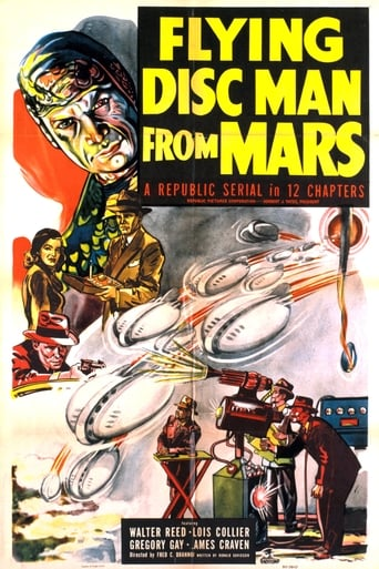Poster of Flying Disc Man from Mars