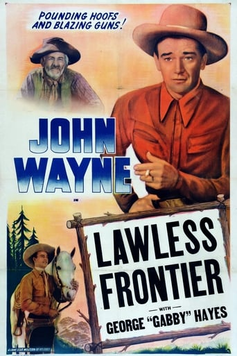 Poster of The Lawless Frontier