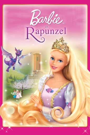 Poster of Barbie as Rapunzel