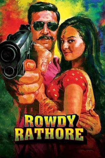 Poster of Rowdy Rathore