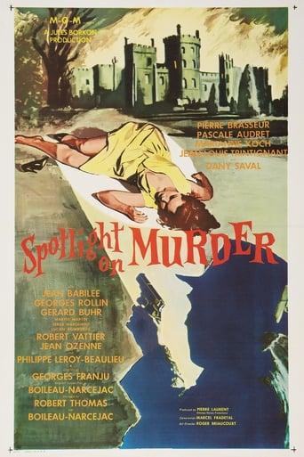 Poster of Spotlight on a Murderer