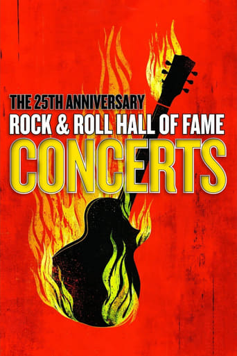Poster of The 25th Anniversary Rock and Roll Hall of Fame Concert