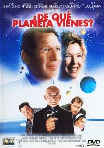 Poster of ¿De qué planeta vienes?