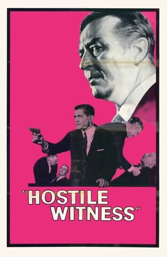 Poster of Hostile Witness