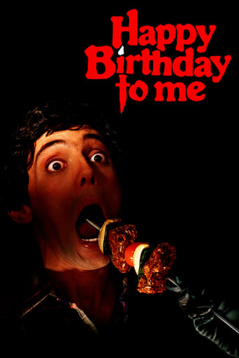 Poster of Happy Birthday to Me