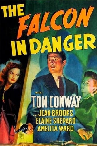 Poster of The Falcon in Danger