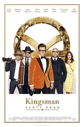 Poster of Kingsman: Złoty krąg