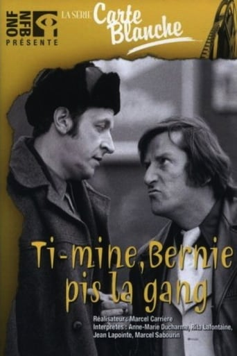 Poster of Ti-Mine, Bernie pis la gang…