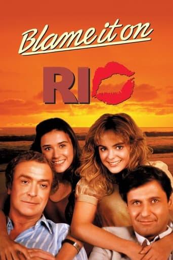 Blame It on Rio (1984) - poster