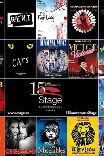 Ver 15 Años de Musicales de Stage Entertainment pelicula online