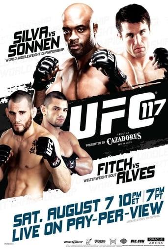 Poster of UFC 117: Silva vs. Sonnen