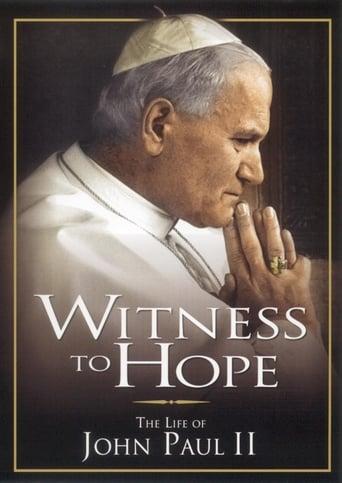 Poster of Witness to Hope: The Life of Karol Wojtyla, Pope John Paul II