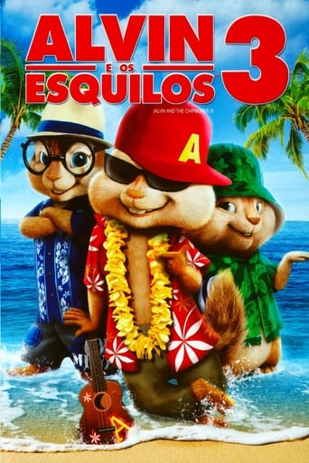 Alvin e os Esquilos 3 - Poster