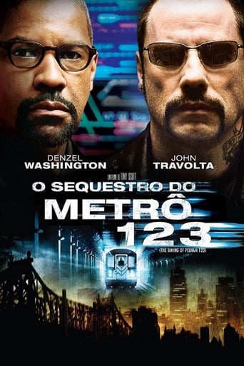 O Sequestro do Metrô 123 - Poster