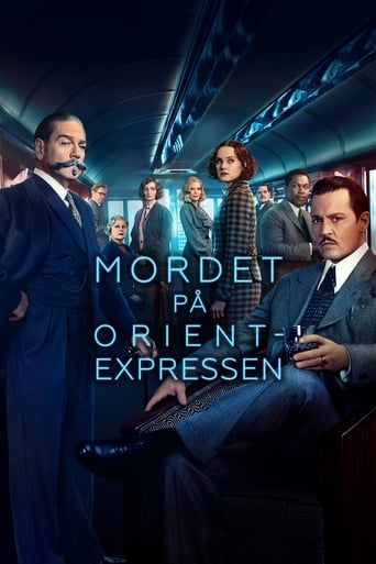 Poster of Mordet på Orientexpressen
