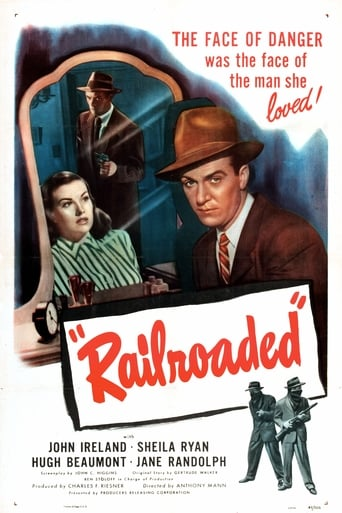Poster of Railroaded!