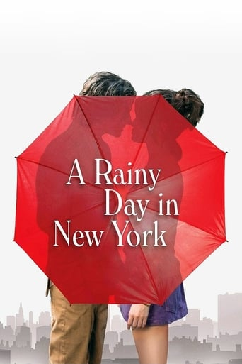 Poster of A Rainy Day in New York