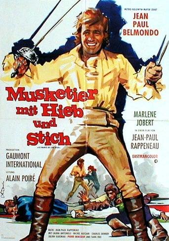 Musketier mit Hieb und Stich