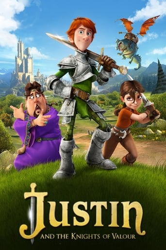 Poster of Justin and the Knights of Valour