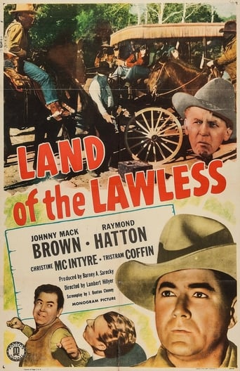 Poster of Land of the Lawless