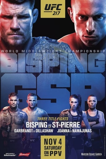 Poster of UFC 217: Bisping vs. St-Pierre