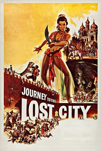 Poster of Journey to the Lost City