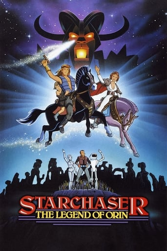 Poster of Starchaser: The Legend of Orin