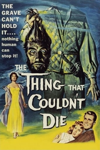 Poster of The Thing That Couldn't Die