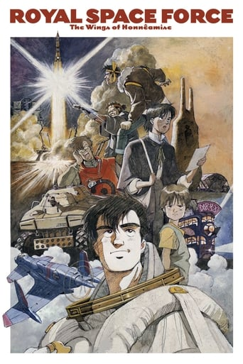 Poster of Royal Space Force: Wings of Honneamise