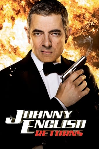 Poster of Johnny English returns