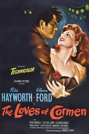Poster of The Loves of Carmen
