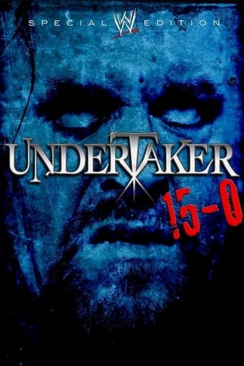 Poster of WWE: Undertaker 15-0