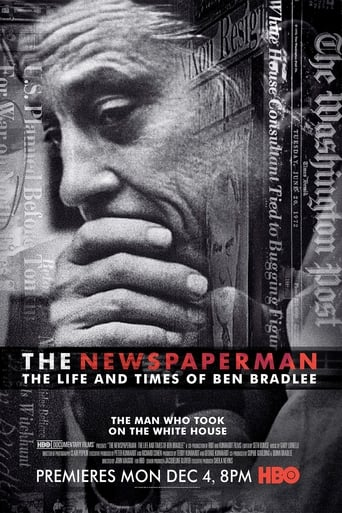 Poster of The Newspaperman: The Life and Times of Ben Bradlee