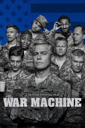 Poster of War Machine fragman