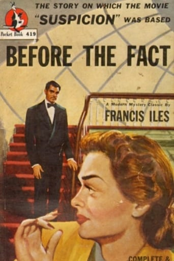 Poster of Before the Fact: Suspicious Hitchcock