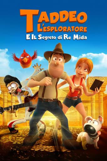 Cartoni animati Taddeo l'esploratore e il segreto di re Mida - Tadeo Jones 2: El secreto del rey Midas