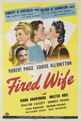 Poster of Fired Wife