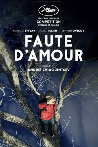 Poster of Faute d'amour