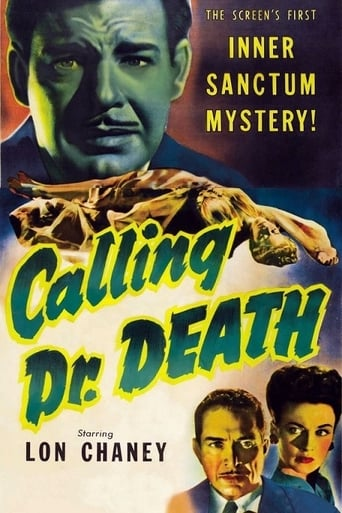Calling Dr. Death Movie Poster
