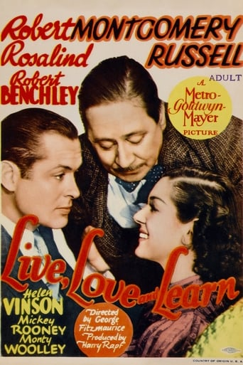 Live, Love and Learn Movie Poster