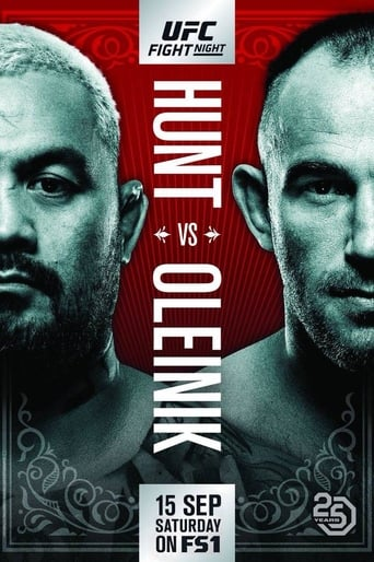 Poster of UFC Fight Night 136: Hunt vs. Oleinik