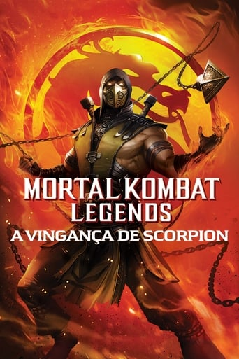 Mortal Kombat Legends A Vingança de Scorpion - Poster