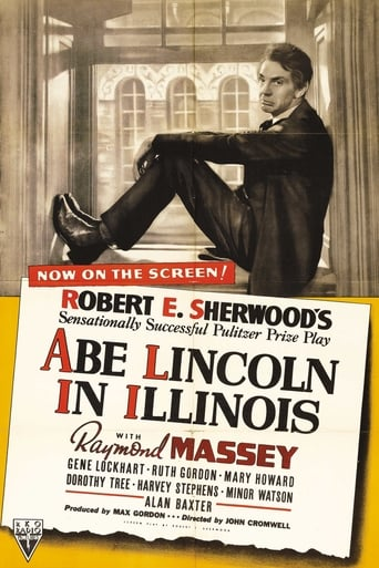 Poster of Abe Lincoln in Illinois