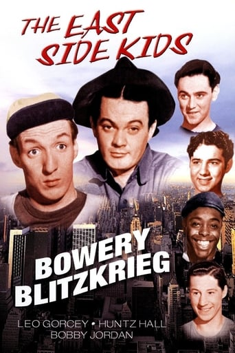 Poster of Bowery Blitzkrieg