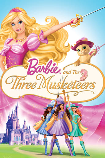 Poster of Barbie and the Three Musketeers