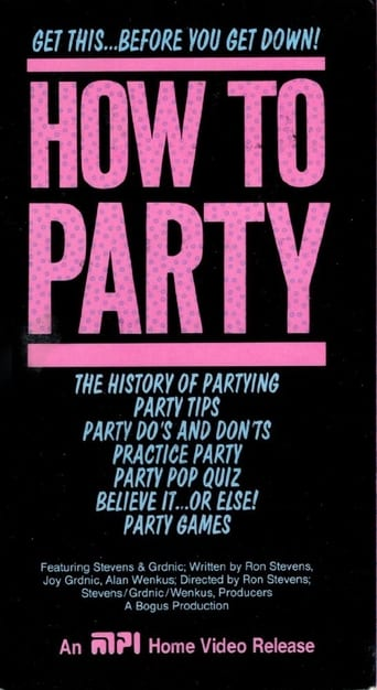 How To Party Movie Poster