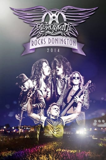 Poster of Aerosmith - Rocks Donington 2014