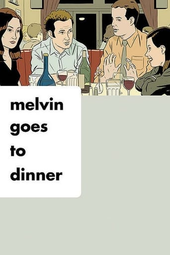Poster of Melvin Goes to Dinner